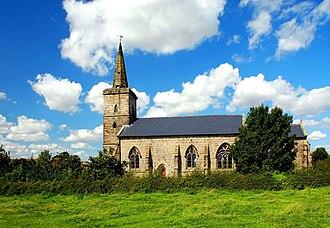 Ratcliffe Culey - Image: All Saints Church, Ratcliffe Culey