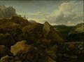 Allaert van Everdingen - Mountain Landscape with Waterfall - KMSsp515 - Statens Museum for Kunst.jpg