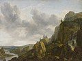Allaert van Everdingen - Northern Mountain Landscape with Waterfall - KMSsp513 - Statens Museum for Kunst.jpg