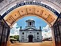 Allan Jay Quesada - Legazpi Church from the gate DSC 6557.jpg
