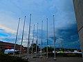 Alliant Energy Center Flags - panoramio.jpg