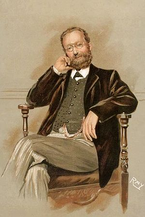 "Thomas Allinson - ""Wholemeal Bread"" – caricature of Allinson in Vanity Fair, 4 October 1911"