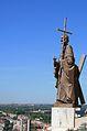 Almudena Cathedral statue 3.jpg