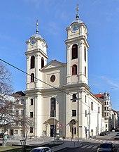 In der Lichtentaler Pfarrkirche wurde Schubert getauft (Quelle: Wikimedia)