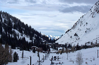 Alta Ski Area - Image: Alta Little Cottonwood Canyon