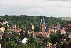 Altenburg - Image: Altenburg Frauenfels