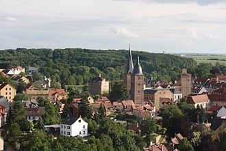 Altenburg - Image: Altenburg Frauenfels