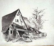 Altes Gehöft in Benningen - Eduard von Kallee