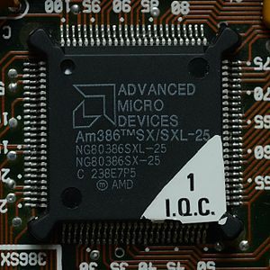 X86 - Am386, released by AMD in 1991
