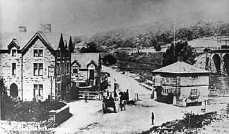 Ambergate - The Hurt Arms in 1880