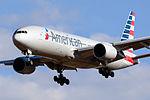 American Airlines, Boeing 777-200 N786AN NRT (16900077756).jpg