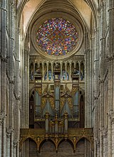 Amiens Cathedral Organ and Rose Window, Picardy, France - Diliff.jpg
