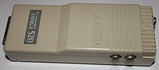 Amiga video connector
