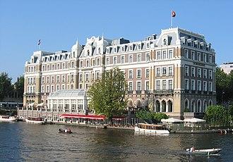 InterContinental Amstel Amsterdam - Image: Amstelhotel Amsterdam