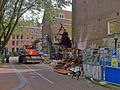 Amsterdam - Eerste Marnixplantsoen sloop Patronaatsgebouw St Elisabeth.JPG