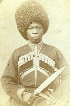 An African man in Karabakh by George Kennan