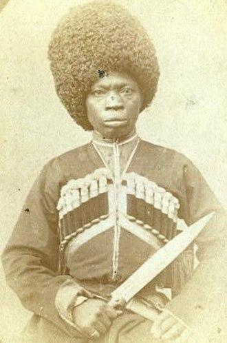George Kennan (explorer) - An Afro-Abkhazian. Photo by Kennan, 1870.