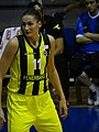 Anastasiya Verameyenka 11 Fenerbahçe women's basketball TWBL 20181216.jpg