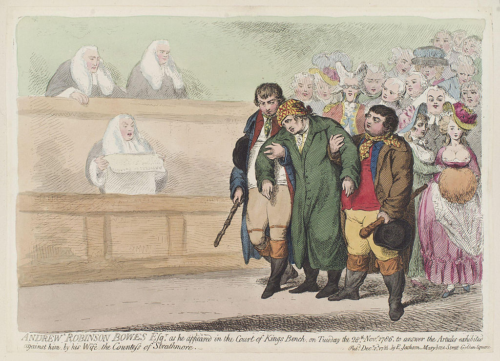 File:Andrew Robinson Bowes Esqr. as he appeared in the Court of Kings Bench by James Gillray.jpg