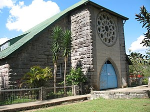Church of Saint Mary the Virgin (Sagada) - This church is famous for its rose petals stained glass