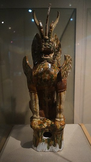 Xuzhou - Animal Defending the Tomb, Tang Dynasty