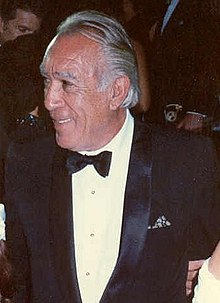L'actor Anthony Quinn en 1988.