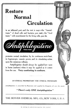 Liniment - A 1914 advertisement