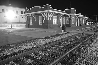 Antlers, Oklahoma - Antlers historic train station