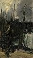 Antoine Vollon - Havengezicht in Duinkerken (of Dieppe^) - SK-A-1901 - Rijksmuseum.jpg