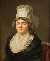 Portrait d'Antoinette Gabrielle Danton