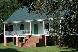 West Baton Rouge Parish, Louisiana - Image: Antoniahouse 12