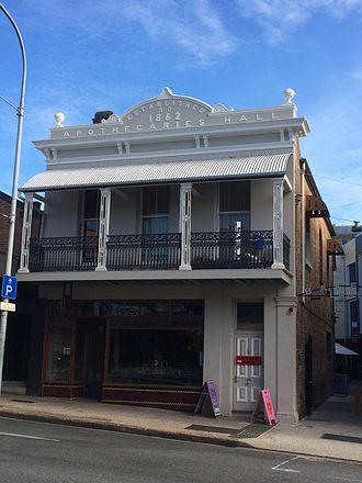 Ann Street, Brisbane - Apothecaries Hall, 690 Ann Street