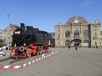 Arad, Romania - Arad Central railway station