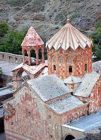 Saint Stepanos Monastery - Image: Aras Jolfa St. Stepanos Monastery panoramio