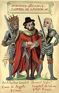 Justiciar of Argyll and head of Clan Campbell