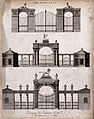 Architecture; three designs for gates to country houses. Eng Wellcome V0024316.jpg