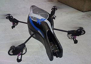Quadcopter - Flying prototype of the Parrot AR.Drone