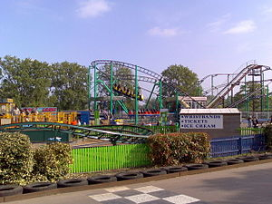 Wicksteed Park - Arena area