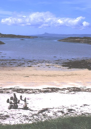 English: Arisaig. Between Arisaig and Mallaig ...