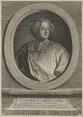 Marie-Anne Horthemels - Image: Armand Gaston, comte de Rohan by Marie Anne Horthemels after Hyacinthe Rigaud