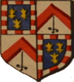 Armes de la famille le Hardy de Beaulieu (avant l'anoblissement en Belgique de cette famille).png