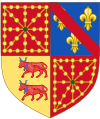 Arms of Henry IV of France as King of Navarre (1572-1589).svg