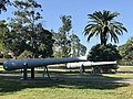 Armstrong BL 6 inch gun Mk V at entrance to Fort Lytton, Brisbane 03.jpg