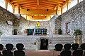 Arnoldstein Klosterruine Stiftskirche Chor 20072012 161.jpg