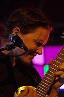 Arone Dyer (Buke) (Buke & Gase) (Haldern Pop Festival 2013) IMGP5936 smial wp.jpg