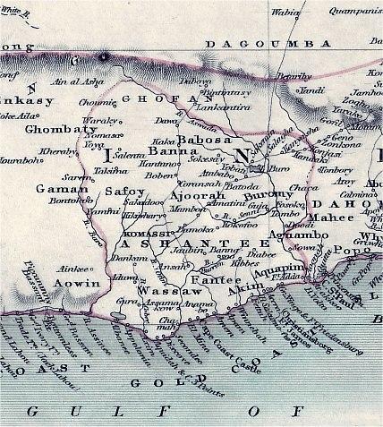 Asante map