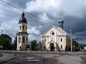 Assumption of Mary church, Pustomyty (01).jpg