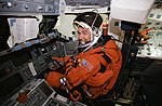 Astronaut Duane G. Carey training in the Space Vehicle Mockup Facility (27923261032).jpg