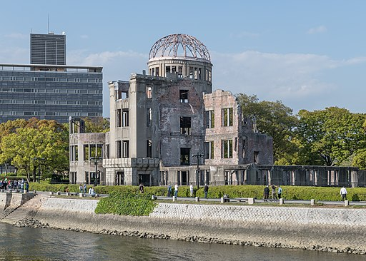 Atomic Bomb Dome, Hiroshima, South view 20190417 1
