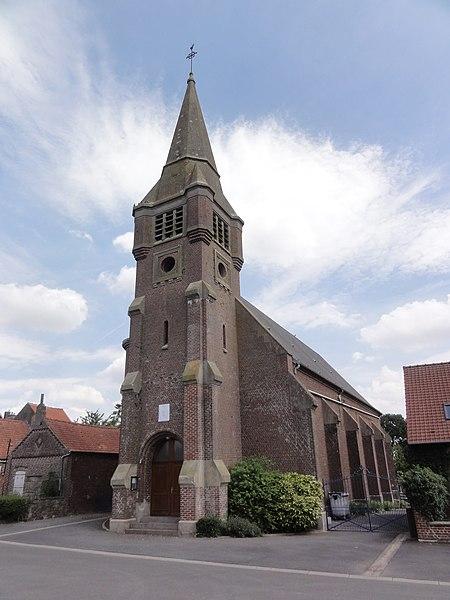 Aubencheul-aux-Bois (Aisne) église